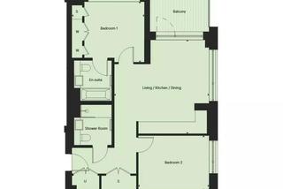 两居室公寓